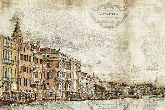 Venice Map by Darin Williams