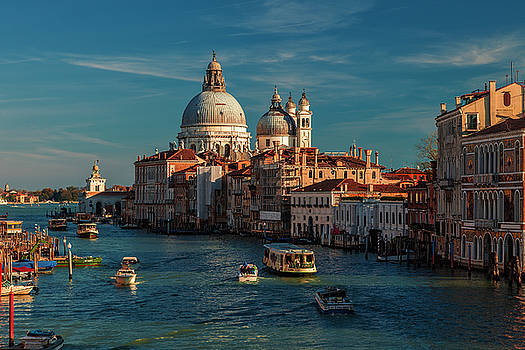 Venice Morning Traffic by Andrew Soundarajan
