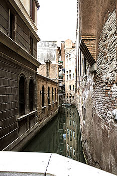 Venice one way street by Milan Mirkovic
