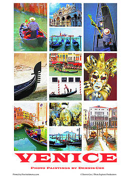 Dennis Cox Photo Explorer - Venice Poster