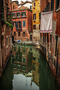 Venice Reflections by Andrew Soundarajan