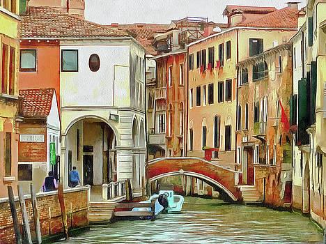 Venice Rio San Lorenzo by Bishopston Fine Art