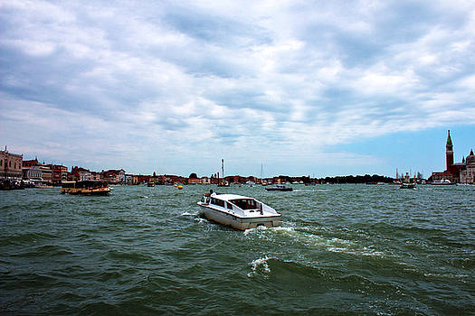 Venice sky by Milan Mirkovic