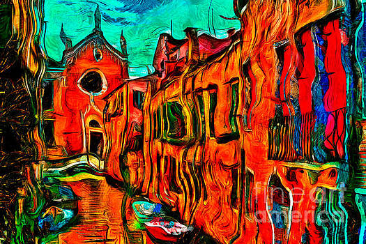Venice Sunny Day by Milan Karadzic