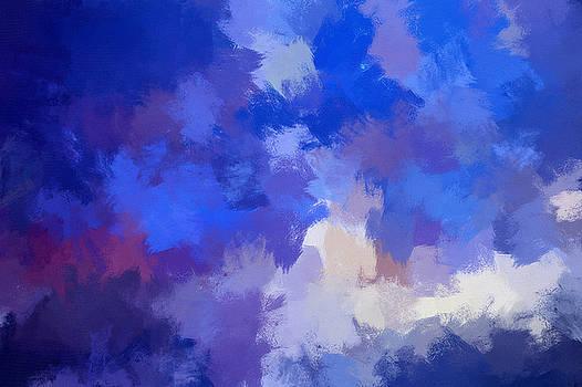 Jenny Rainbow - Venice Twilight Abstract