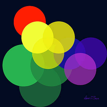 Venn Worlds Collide by Robert J Sadler