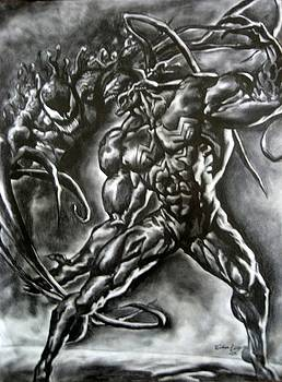 Venom vs Carnage by Adrian Villegas