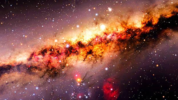 Venus Above Milky Way by Kori Creswell