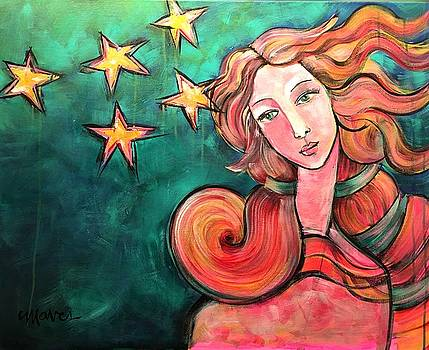 Venus Of The Stars by Laurie Maves ART