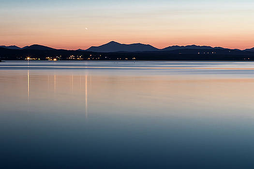 Venus over Whiteface by Dave Schmidt