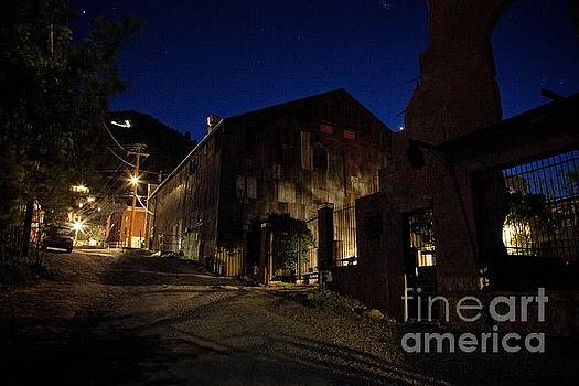 Venus setting in Jerome Az by Ron Chilston