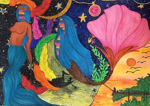 Veracious Angelic Tale. by Tejsweena Krishan