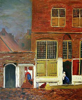 Vermeer Study by Brian Hustead