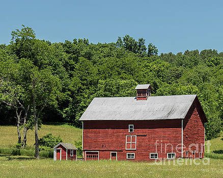 Vermont Barn by Phil Spitze