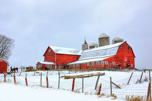 Vermont Barn by Sharon Batdorf