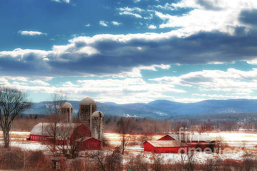 Vermont Country Farm by Elizabeth Dow