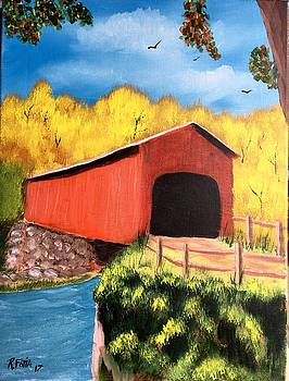 Vermont Covered Bridge by Rich Fotia