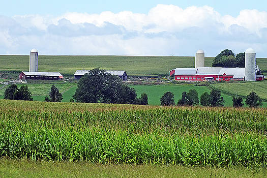 Vermont Farm Country by Bill Morgenstern