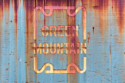 Vermont Green Mountain Railroad Rail Car Signage by Jeff Abrahamson