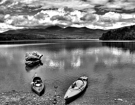 Vermont Lake Stillness by Philip Bobrow