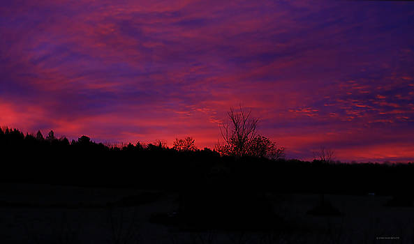 Deborah Benoit - Vermont Morning Sunrise