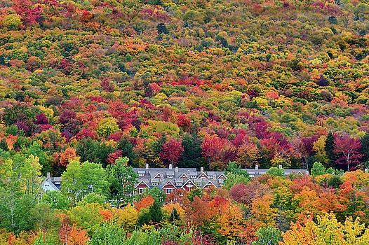 Vermont Mountain Village by William Jobes