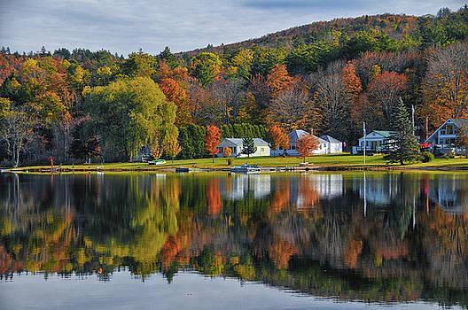 Vermont Reflection by Dennis Clark