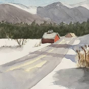 Vermont Snow by Peggy Poppe