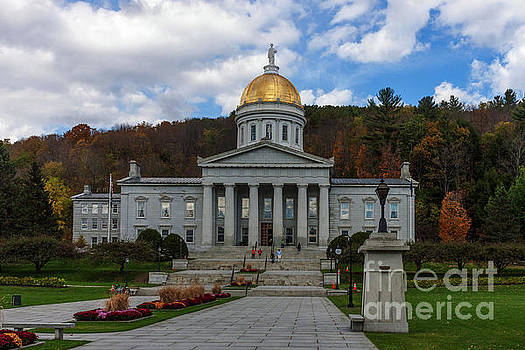 Vermont State House by Thomas Marchessault