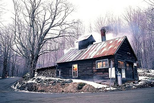 Vermont Sugarhouse by Philip Bobrow