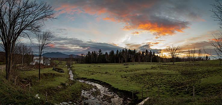 Vermont Sunset by Natalie Rotman Cote