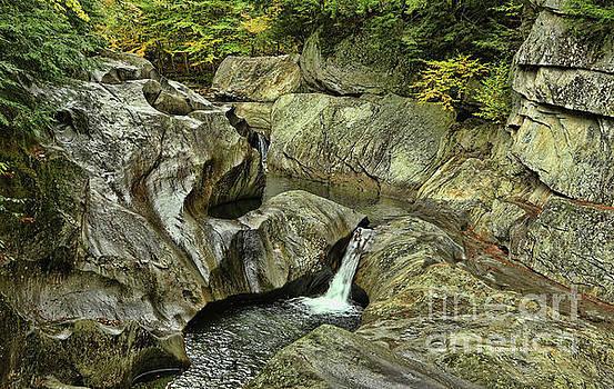 Deborah Benoit - Vermont Waterfall