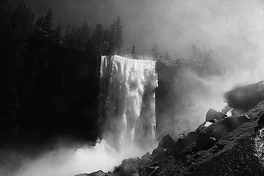 Vernal Fall and Mist Trail by Raymond Salani III