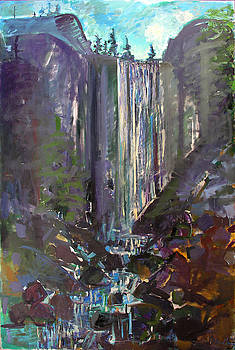Vernal Falls by Zolita Sverdlove
