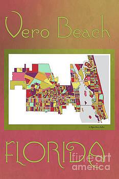 Vero Beach Map3 by Megan Dirsa-DuBois