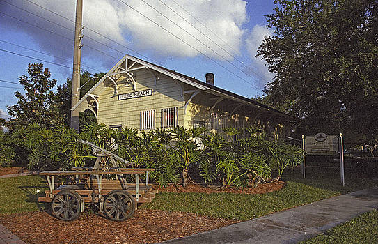 Vero Beach Railroad Station by Richard Nickson