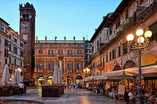 Verona - Piazza Delle Erbe by Joachim G Pinkawa