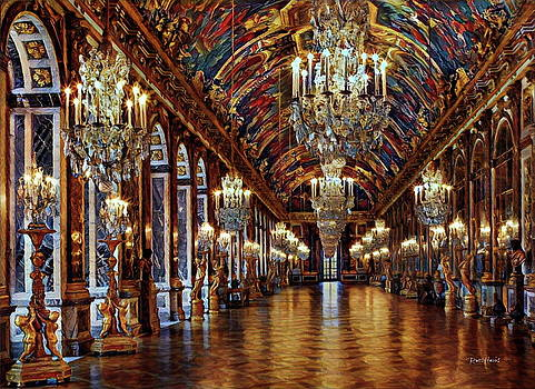 Versailles Hall Of Mirrors by Russ Harris