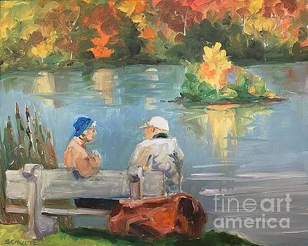 Canadian Couple by Lynne Schulte