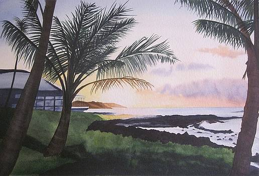 Kauai Sunrise by Teresa Beyer