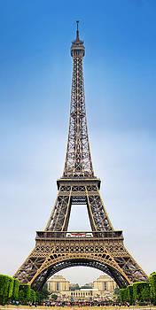 Vertical Eiffel Tower by Vicki Jauron