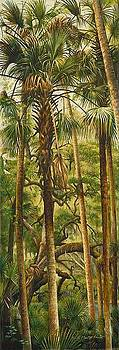 Vertical Palms by Keith Martin Johns