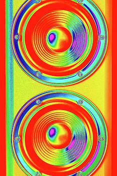 Vertical speaker close-up by Lukasz Szczepanski
