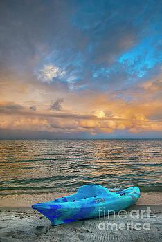 Vertical Sunrise Great Sky by David Zanzinger