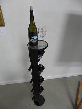 Verticle Winerack by Steve Mudge