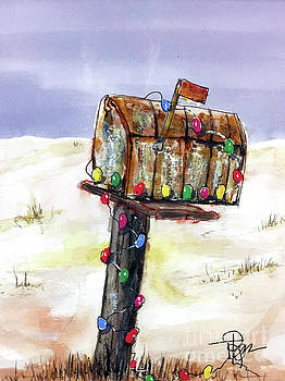 Very Merry Mailbox by Tim Ross