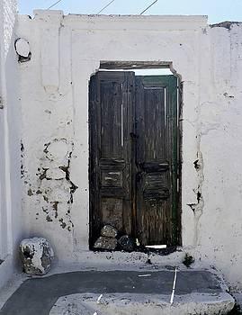 Very Old Door by Leslie Brashear