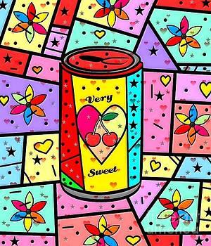 Very Sweet Popart by Nico Bielow by Nico Bielow