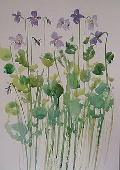 Very Violet by Kathy  Karas