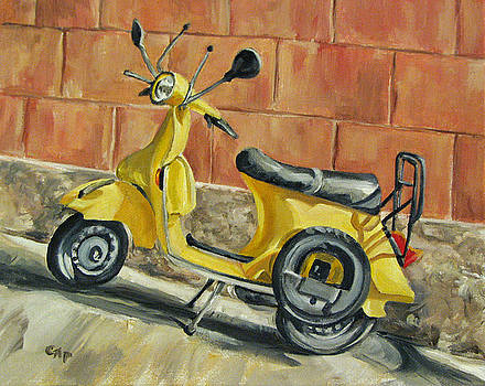 Vespa 1 by Cheryl Pass